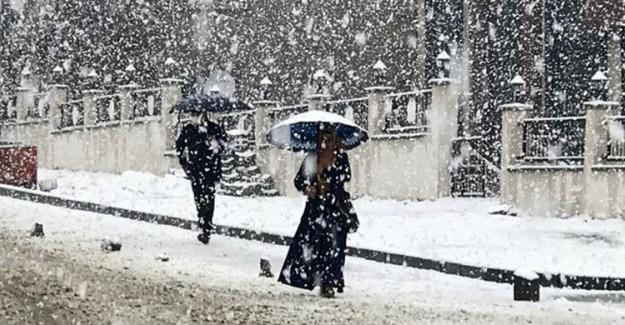 Meteoroloji Açıkladı! Kar Yağışı Ne Kadar Sürecek?