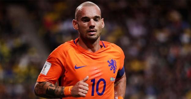 Ve Sneijder Veda Ediyor!