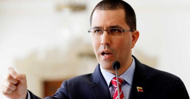 Venezuela Dışişleri Bakanı: ABD Diyalog Değil Savaş İstiyor