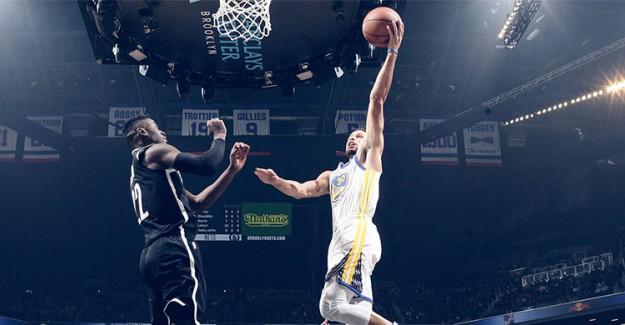 Warriors Nets'i Yıktı, Curry Rekor Kırdı!