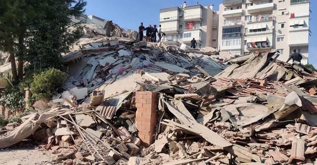 İzmir Depreminde Arama Kurtarma Faaliyetleri Sonlandı