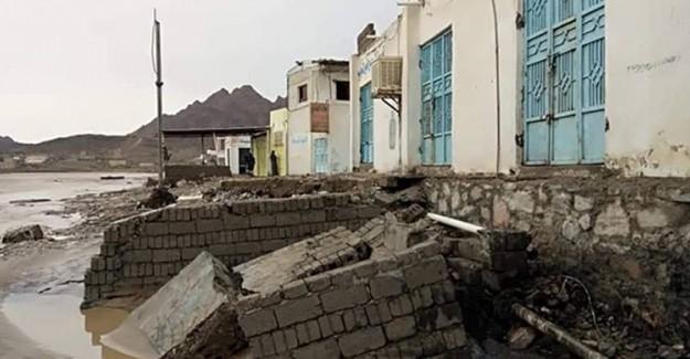 Yemen'de Meydana Gelen Sel Felaketinde 6 Kişi Öldü