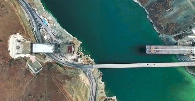 Yeni Kömürhan Köprüsü'nün Yüzde 90'ı Tamamlandı