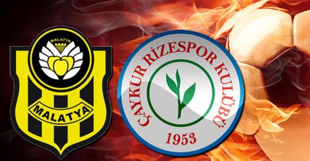 Yeni Malatyaspor 0 - 2 Rizespor Maç Sonucu