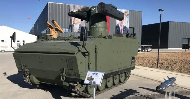 Yerli Ve Milli Füzeler YALMAN Silah Sistemi'nde Toplandı