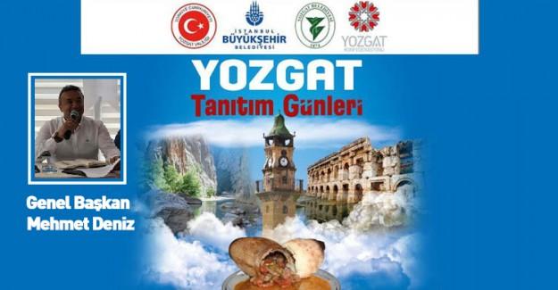Yozgat Tanıtım Günleri Yenikapı'da Düzenlenecek