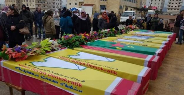 YPG Teröristlerini Gömecek Mezar Bulamıyor!