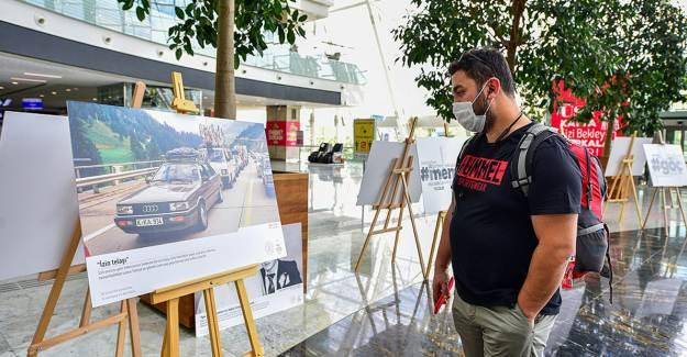 YTB'nin 'Sandıktaki Fotoğraflar' Sergisi Ankara Garı'nda