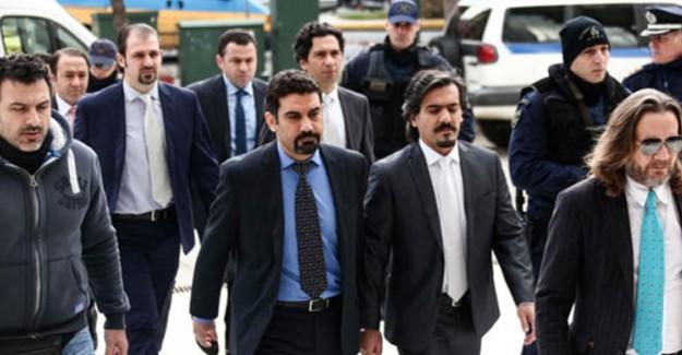 Yunanistan FETÖ'cüleri Korumaya Devam Ediyor! Gizlice Tahliye Ettiler