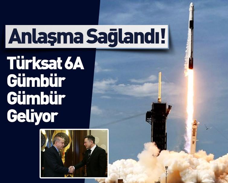 Anlaşma Sağlandı: Türksat 6A'yı Space X Fırlatacak