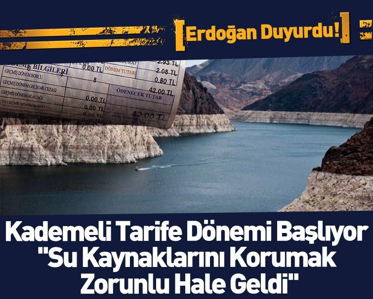 Başkan Erdoğan Su Şurası Toplantısına Katıldı, Kuraklık Karşıtı Planlar Belli Oldu