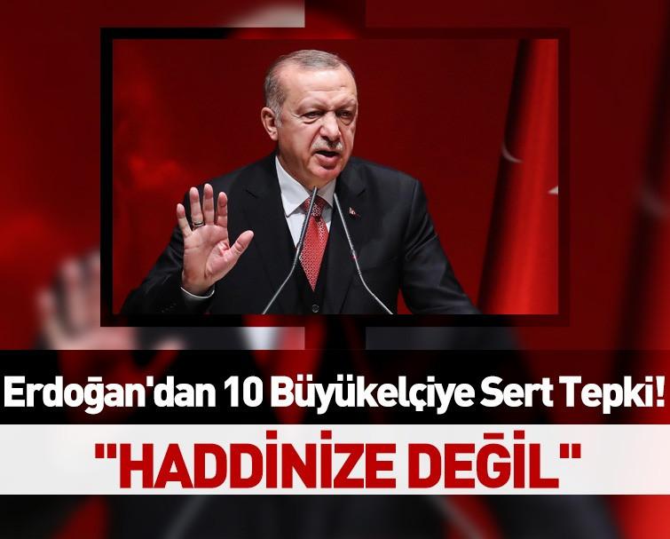 Başkan Erdoğan: Türkiye'ye Ders Vermek Haddinize Mi?