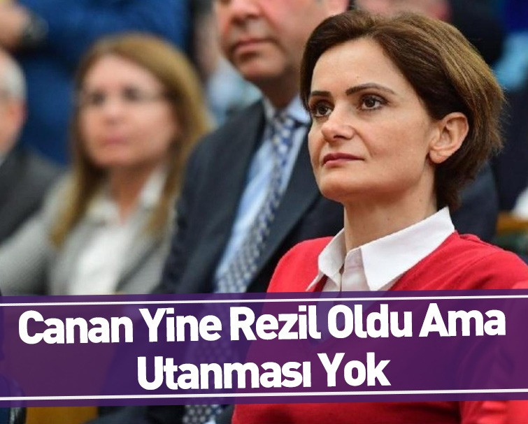 CHP İstanbul İl Başkanı Canan Kaftancıoğlu Yaptığı Hadsiz Paylaşımından Sonra Utanacak mı?