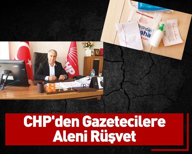 CHP'den Gazetecilere Basın Toplantısında Aleni Rüşvet Geldi!