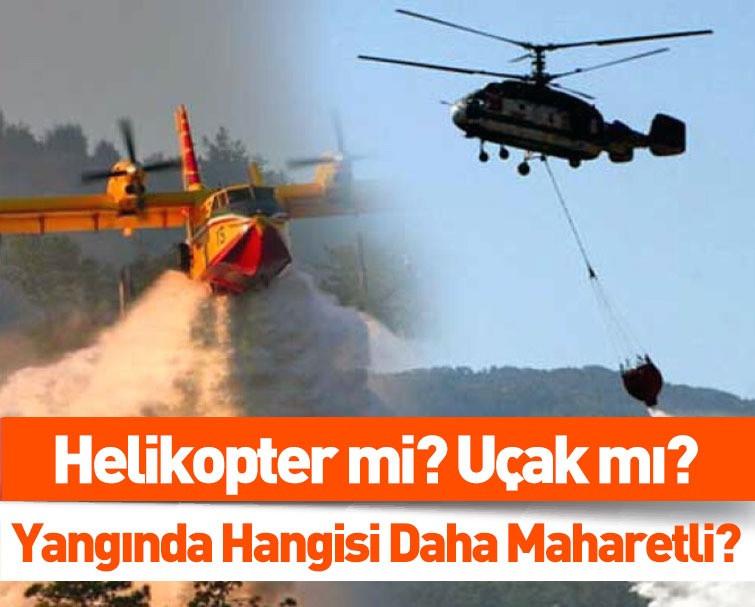 Cumhurbaşkanı Erdoğan'dan Muhalefetin THK Algısına Tepki! Helikopter mi? Uçak mı? Yangında Hangisi Daha Maharetli?