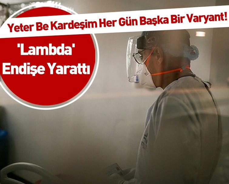 Dünya Sağlık Örgütü'nden Yeni Kovid-19 Lambda Varyantı Açıklaması