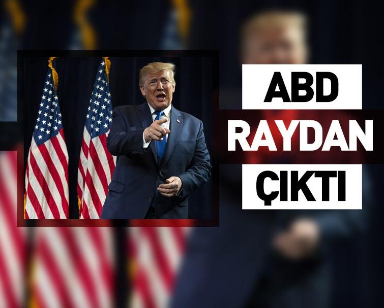 Eski ABD Başkanı Donald Trump: ABD Raydan Çıktı!