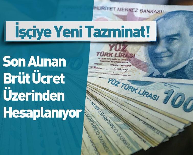 İşçiye 8.284 TL Yeni Tazminat!