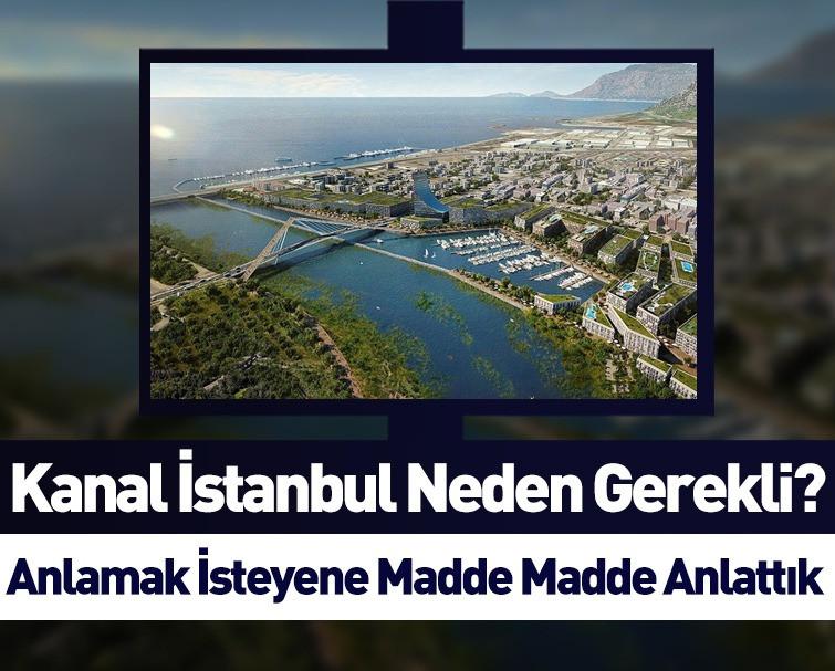 Kanal İstanbul Hakkında Tüm Merak Edilenler '50 Soruda Kanal İstanbul' Rehberi İle Aydınlatıldı