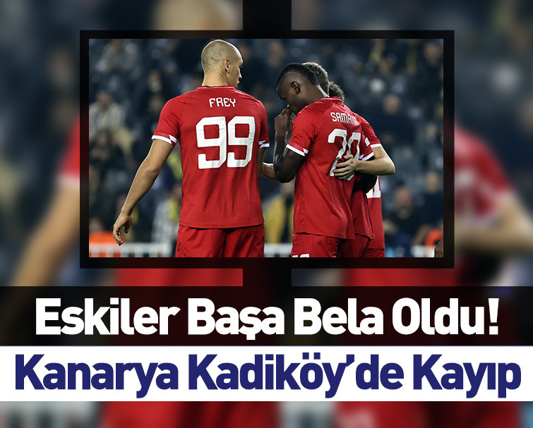 Maç Sona Erdi! Fenerbahçe 2-2 Royal Antwerp