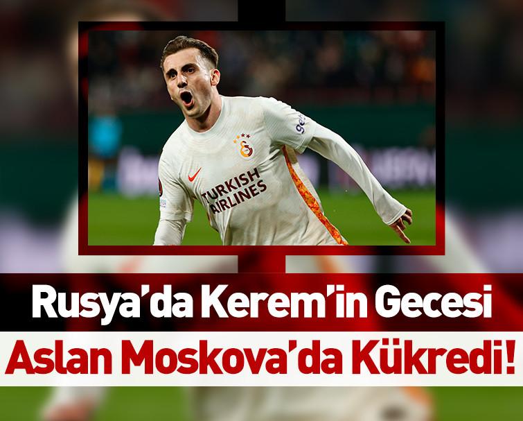 Maç Sona Erdi! Lokomotiv Moskova 0-1 Galatasaray