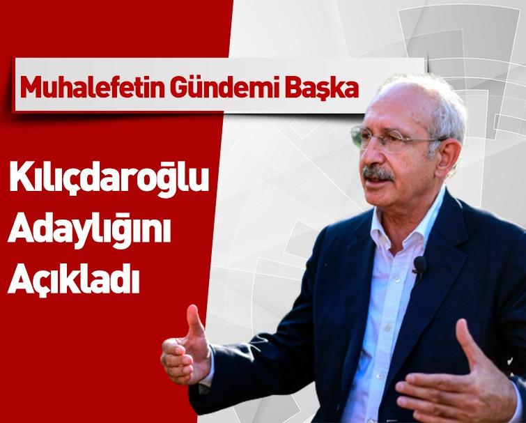 Millet İttifakı'nda Koltuk Savaşı! Kemal Kılıçdaroğlu Açıkladı; 'Cumhurbaşkanı Adayı Olurum'