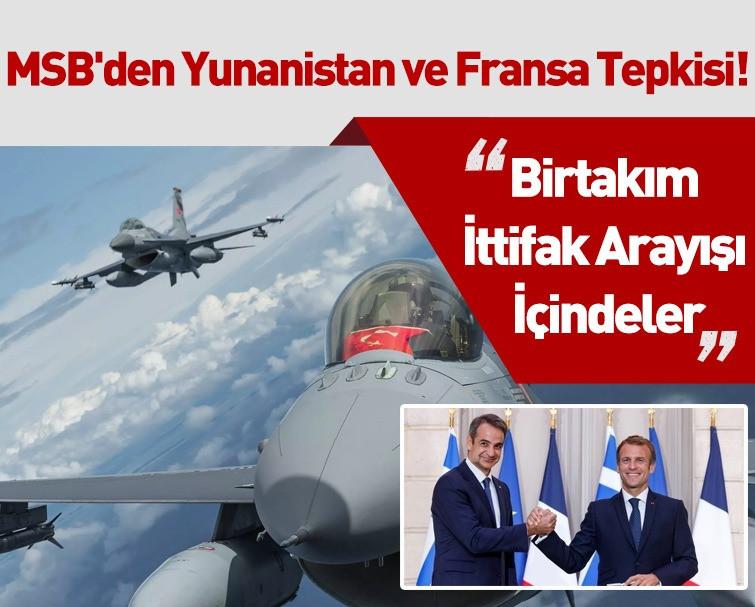 Milli Savunma Bakanı'nda NATO Toplantısı Sonrası Yunanistan ve Fransa'ya Tepki Gösterdi!