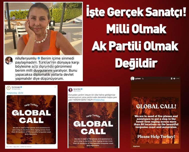 Nilüfer'den 'Help Turkey' Çağrılarına Tepki!