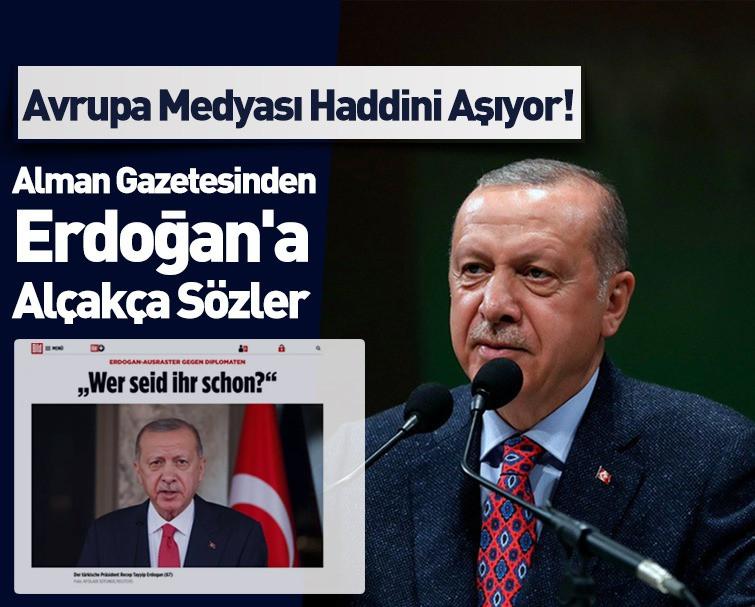 Osman Kavala Konusunda Alman Blid Gazetesi Başkan Erdoğan Hakkında Sınırı Aşan Haber Yayınladı!