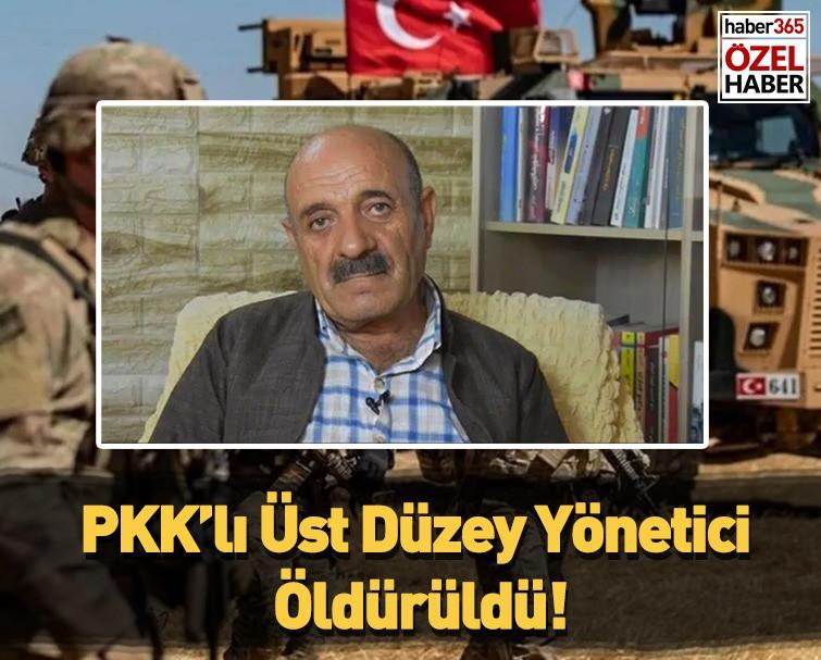 PKK'lı Üst Düzey Yönetici Öldürüldü