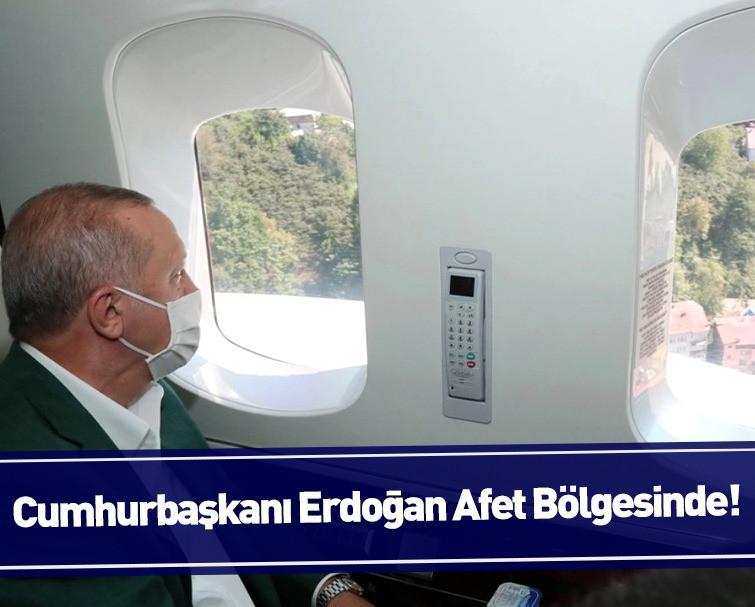 Son Dakika: Cumhurbaşkanı Erdoğan Yangın Afet Bölgesinde!