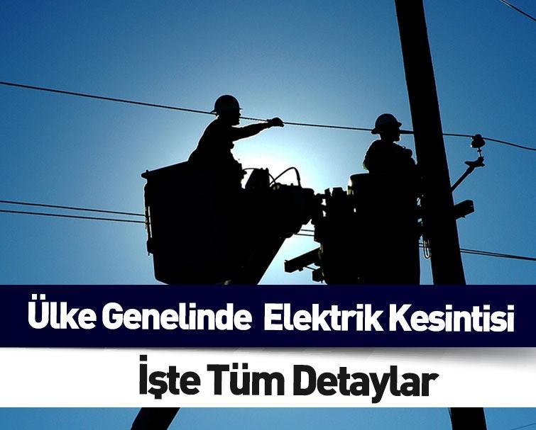 Son Dakika: Ülke Genelinde Elektrik Kesintileri Yaşanıyor!