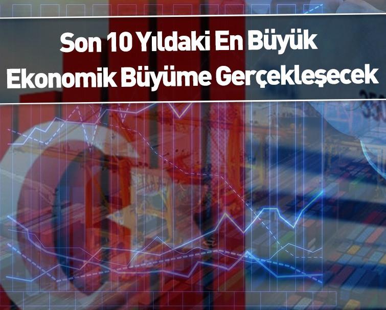 Türkiye'nin Büyüme Tahmini Açıklandı: 10 Yılın En Yükseği!
