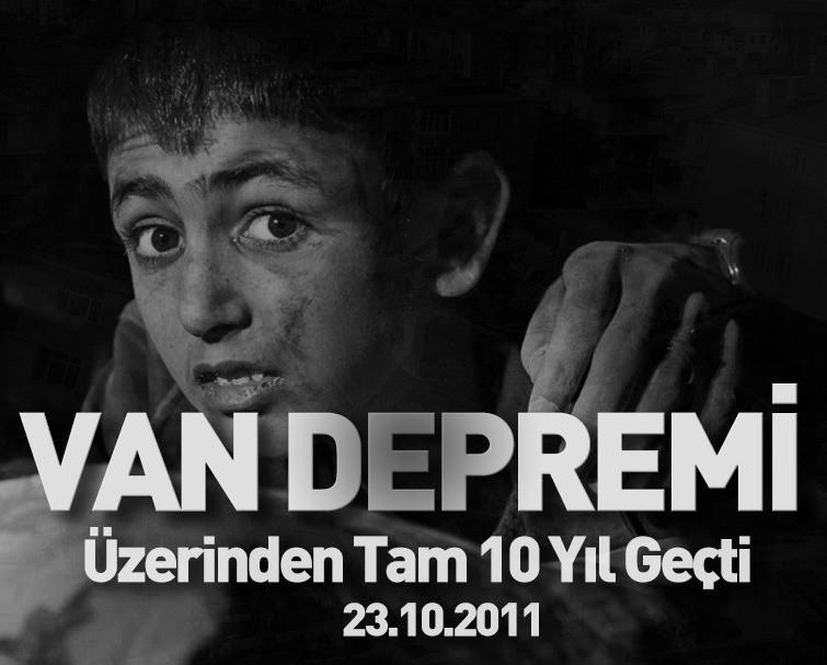 Üzerinden Tam 10 Yıl Geçti! Van Depreminin Acısı Hala Taze