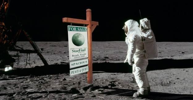 ABD'de Bir Şirket Aydan Arsa Satmaya Başladı