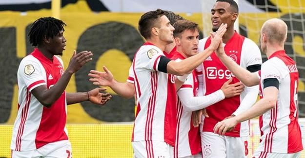 Ajax 13 Gol İle Tarihe Geçti