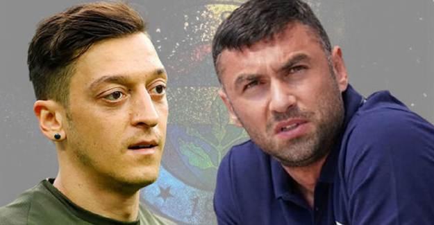 Burak Yılmaz'dan Mesut Özil'e Olay Sözler