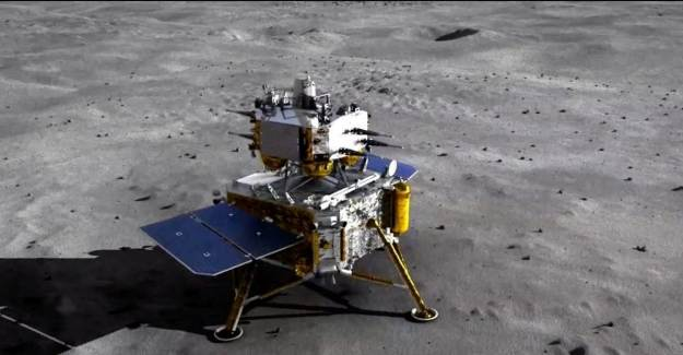 Çin Uzay Aracı, Ay'a İniş Yaptı!