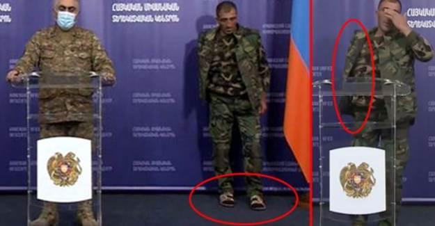 Ermeni Askerleri Basın Toplantısına Terlikle Katıldı