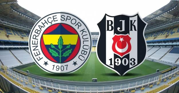 Müthiş Derbi Bitti! Fenerbahçe - Beşiktaş: 3 - 4