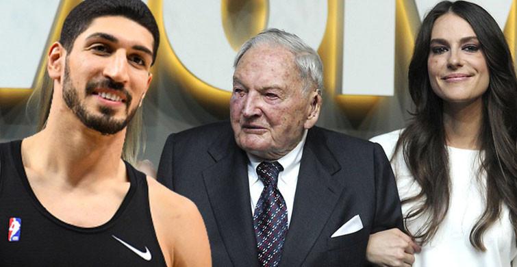 FETÖ'cü Enes Kanter ile Ariana Rockefeller Aşk Yaşıyor