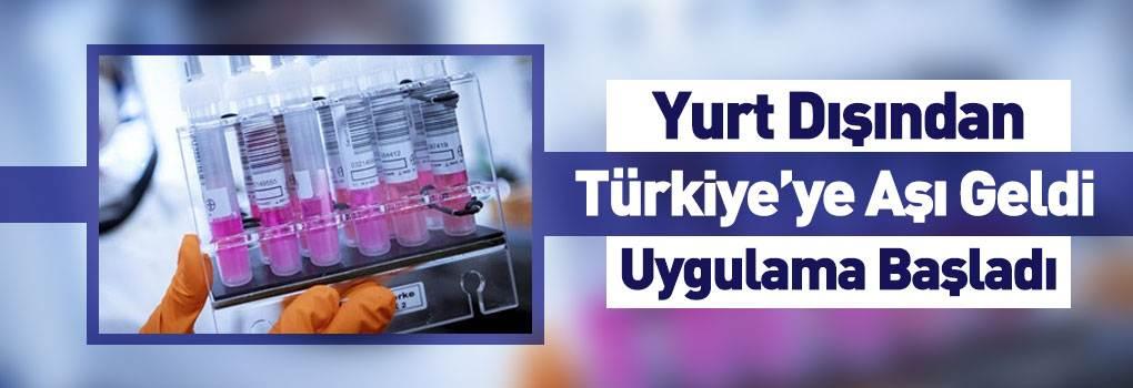 Almanya'dan Gelen Aşı Türkiye'de Deneniyor