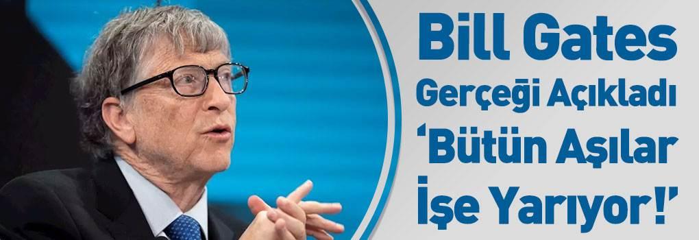 Bill Gates'ten Yeni Kovid-19 Aşı Açıklaması