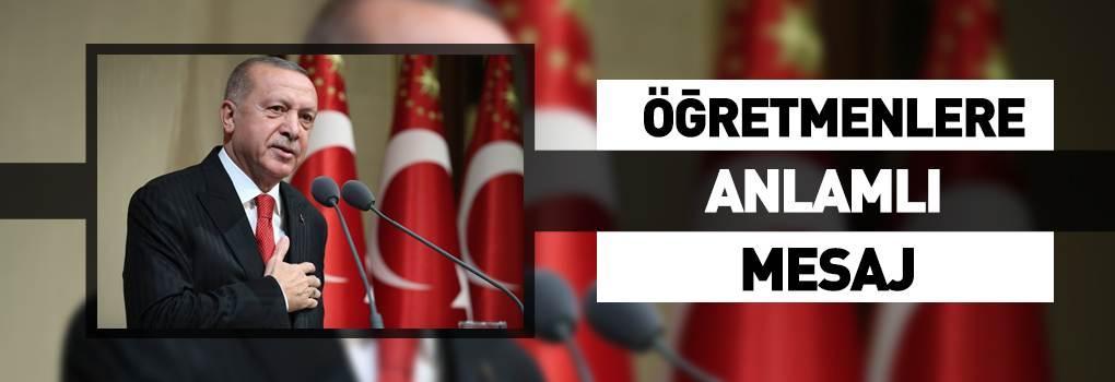 Cumhurbaşkanı Erdoğan'dan Öğretmenlere Destek!