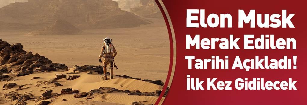 Elon Musk 6 Ay İçinde Mars'a Ayak Basılacağını Söyledi