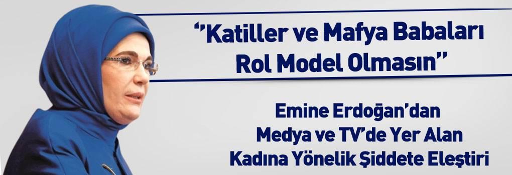 Emine Erdoğan'dan TV Eleştirisi: Bir Kadına Kalkan El, Hepimize Kalkıyor