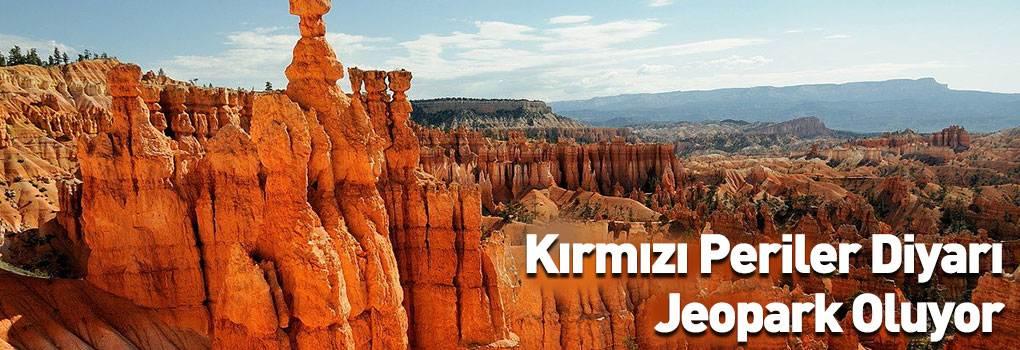 Erzurum'un 'Kırmızı Periler Diyarı' Jeopark Oluyor