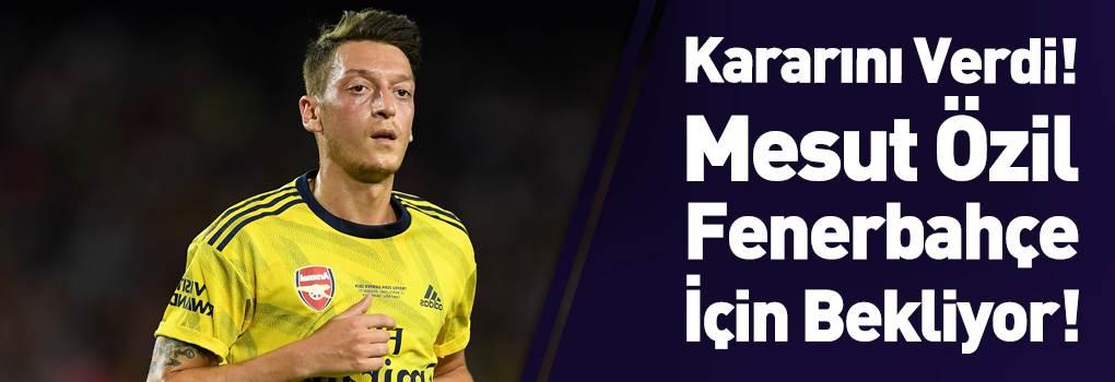 Fenerbahçe Mesut Özil'i Bekliyor!