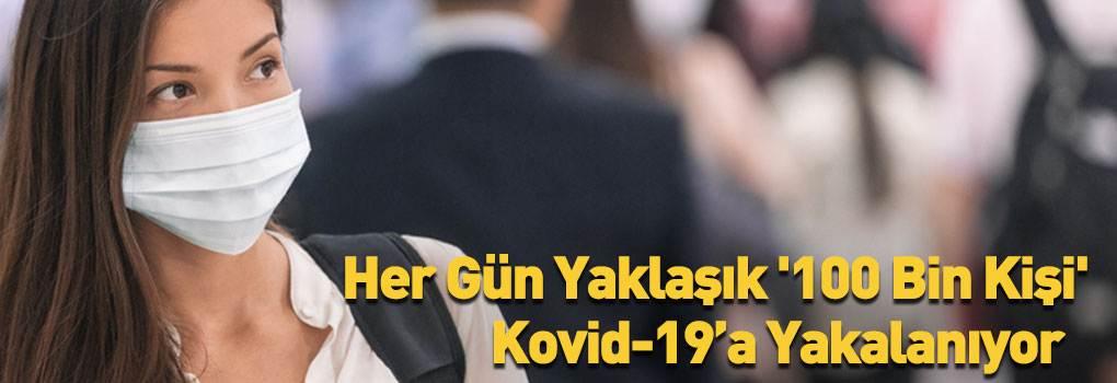 Her Gün Yaklaşık '100 Bin Kişi' Kovid-19'a Yakalanıyor