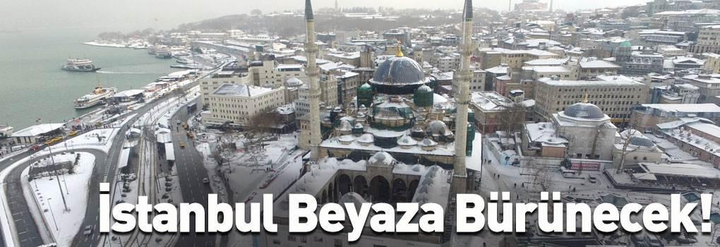 İstanbul'da Hafta Sonu Kara Teslim Olacak